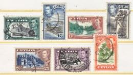 CEYLON  279 C +  (o)   1938-52 Issue - Ceylon (...-1947)