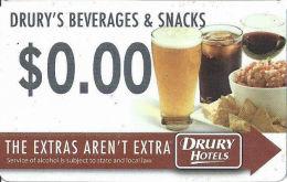 Drury Hotels Room Key Card - Hotel Keycards