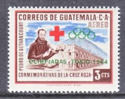 GUATEMALA   C 285    *  OLYMPICS  64      RED  CROSS - Guatemala