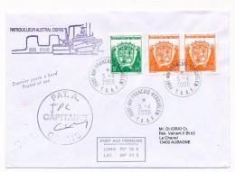 Enveloppe TAAF - Affr. Composé - Patrouilleur Austral Osiris / Isis 0106 - Port Aux Français Kerguelen 5-4-2006 - French Southern And Antarctic Territories (TAAF)