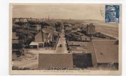 SAINT PAIR SUR MER - N° 4 - VUE GENERALE AVEC VIEILLE VOITURE - FORMAT CPA VOYAGEE - Saint Pair Sur Mer