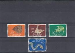 Liechtenstein - Année 1973 - Faune  Des Montagnes - Neuf** YT 538/541 - Liechtenstein