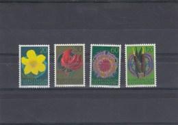 Liechtenstein - Année 1972 - Fleurs - Neufs**YT 503/506 - Unused Stamps