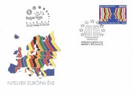 Hungary FDC  2000  European Language Year - FDC