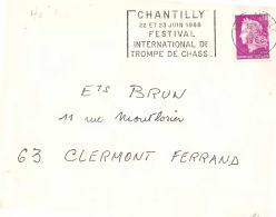 FRANCE -  CHANTILLY 1968 - FESTIVAL INTERNATIONAL DE TROMPE DE CHASSE - Musique