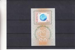 Lituanie - Yvert BF 15 ** - MNH - Cor De Poste - Valeur 9 Euros