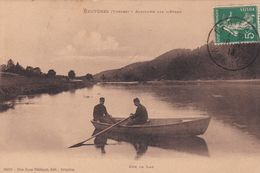 Cp , 88 , BRUYÈRES , Sur Le Lac - Bruyeres