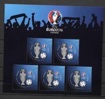 EURO 2016 - Salon Paris-Philex - Vernis 3D Sur La Coupe - Championnat D'Europe (UEFA)