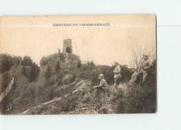 PIERRE PERCEE : Soldats Près Du Château. 2 Scans. Edition ? - Autres Communes