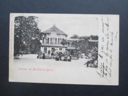 AK Luxemburg 1901 Sovenir De Mondorf - Les - Bains. Kurort. Verlag N. Schumacher. Nach Belgien. - Bad Mondorf