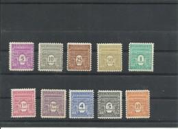 FRANCIA  YVERT 620/29  MH  * - 1941-66 Escudos Y Blasones