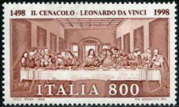 IT0899 Italy 1998 Leonardo Da Vinci Painting 1v MNH - 1991-00: Neufs