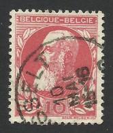Belgium,  10 C. 1905, Sc # 85, Mi # 71, Used, - 1905 Thick Beard