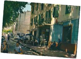 CPSM 20 2B  CALACUCCIA VALDO NIELLO HOTEL DE FRANCE ANIME - Non Classés