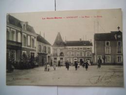 La Place , La Poste - Andelot Blancheville