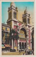 TUNISIE - Tunis - La Cathédrale - CPSM Couleur  Signée CAP  - 171 - Tunisia