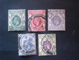 STAMPS HONG KONG 1921 - 1926 King George V - Oblitérés