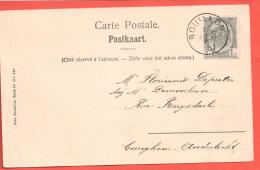 Carte Postale De BOUILLON  Panorama Alle / Semois - 1893-1907 Coat Of Arms