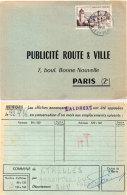 Publicité Route Et Ville Paris - Commune ETRELLES  (35)     (87648) - Publicité