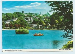 The Boating Pool, Helston, Cornwall - John Hinde - England