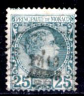 Monaco-207A - 1885 - Y&T N. 6 (o) Obliterated - Privo Di Difetti Occulti - - Monaco