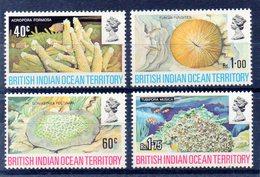 BIOT      Océan Indien Britannique Timbres Neufs ** De 1972  ( Ref 3403 ) Animal -corail - Territoire Britannique De L'Océan Indien