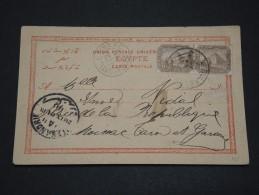 EGYPTE - Enveloppe à Découvrir - Détaillons Collection - A Voir - Lot N° 16079 - 1866-1914 Khédivat D'Égypte
