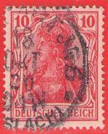 MiNr.86II.a O Deutschland Deutsches Reich - Oblitérés