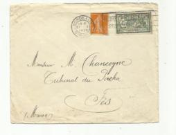 FRANCE :   Merson 143 Sur Lettre Pour Le Maroc CaD Du 21 05 1929 De Bordeaux - 1921-1960: Modern Tijdperk