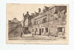 Cp , 29 , LE CONQUET , Vieilles Maisons , Voyagée 1934 - Le Conquet