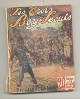 """Livre , Série """" Les Trois Boy-Scouts """" N° 3 """" La Terreur Dans La Savane"""" 1913 - Scoutisme , Scout (AF) - Autres"""