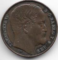 *Denmark 1 Skilling 1852 Km 754  Vf+    Catalog Val 30,00$ - Denmark