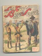 """Livre , Série """" Les Trois Boy-Scouts """" N° 31 """" Le Démon Des Pampas"""" 1914 - Scoutisme , Scout (AF) - Autres"""
