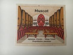 734 - Suisse Valais  Musact Alphonse Clavien Miège - Etiquettes