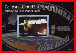 TUVALU 2006  SPACE // CALIPSO SATELITE S/S  MNH ** Neuf - Space