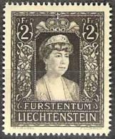 Fürstin Elsa 1947:  Zu.216 Mi.256 ** Postfrisch MNH (Zumstein CHF 7.00) - Liechtenstein