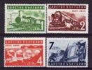 28-924 // BG - 1939  50 JAHRE BULGARISCHE EISENBAHNEN  Mi 354/57 ** - Unused Stamps