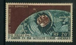 COTE  DES  SOMALIS  ( AERIEN ) : Y&T  N° 33  TIMBRE  NEUF  SANS  TRACE  DE  CHARNIERE , A  VOIR . - Costa Francesa De Somalia (1894-1967)