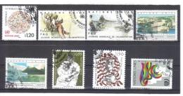 XXX462 VEREINTE NATIONEN UNO GENF 1984 MICHL 119/26  Kompletter Gestempelter  JAHRGANG Siehe ABBILDUNG - Gebraucht