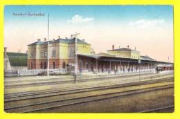* Herbestal - Herbesthal (Lontzen - Liège - Wallonie) * (Verlag J.A. Mayer'sche Aachen 90900) Bahnhof, Gare, Station - Lontzen