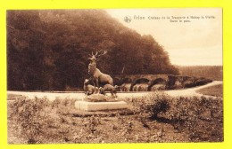 * Arlon - Aarlen (Luxembourg - La Wallonie) * (Ed Nels, Série Arlon, Nr 58) Chateau De La Trapperie à Habbay, Cerf - Arlon