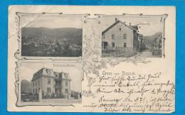 Gruss Aus SISSACH         écrite En 1907 - BL Basle-Country