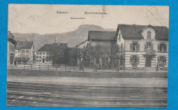 SISSACH    Bahnhofstrasse       écrite En 1917 - BL Basle-Country
