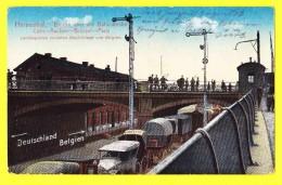 * Herbestal - Herbesthal (Lontzen - Liège - Wallonie) * (Verlag Ferd Schwaitzer Aachen) Pont Brucke, Brug, Bridge - Lontzen