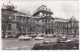 Wien: NASH METROPOLITAN HARDTOP, FORD TAUNUS 17M P2, FIAT-STEYR 1100 & STEYR DAIMLER PUCH ROLLER R125 RL - Universität - Passenger Cars