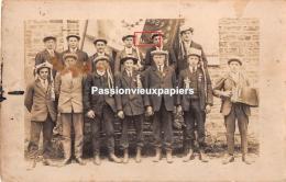 CARTE PHOTO  LA BOUEXIERE  CONSCRITS Vers 1929 - Other Municipalities