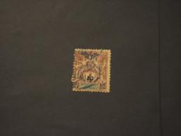 NOUVELLE CALEDONIE - 1903 Soprastampato 50rio  2 Su 4 C. - TIMBRATO/USED - Nouvelle-Calédonie