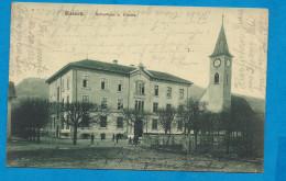 SISSACH    Schulhaus U Kirche     écrite En 1916 - BL Basle-Country