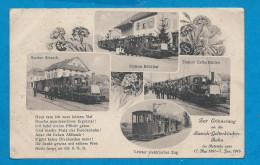 SISSACH     Gares   Trains     écrite En 1916 - BL Basle-Country