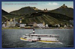 ALLEMAGNE Koenigswinter Mit Drachenburg U. Drachenfels - Colorisée - Koenigswinter
